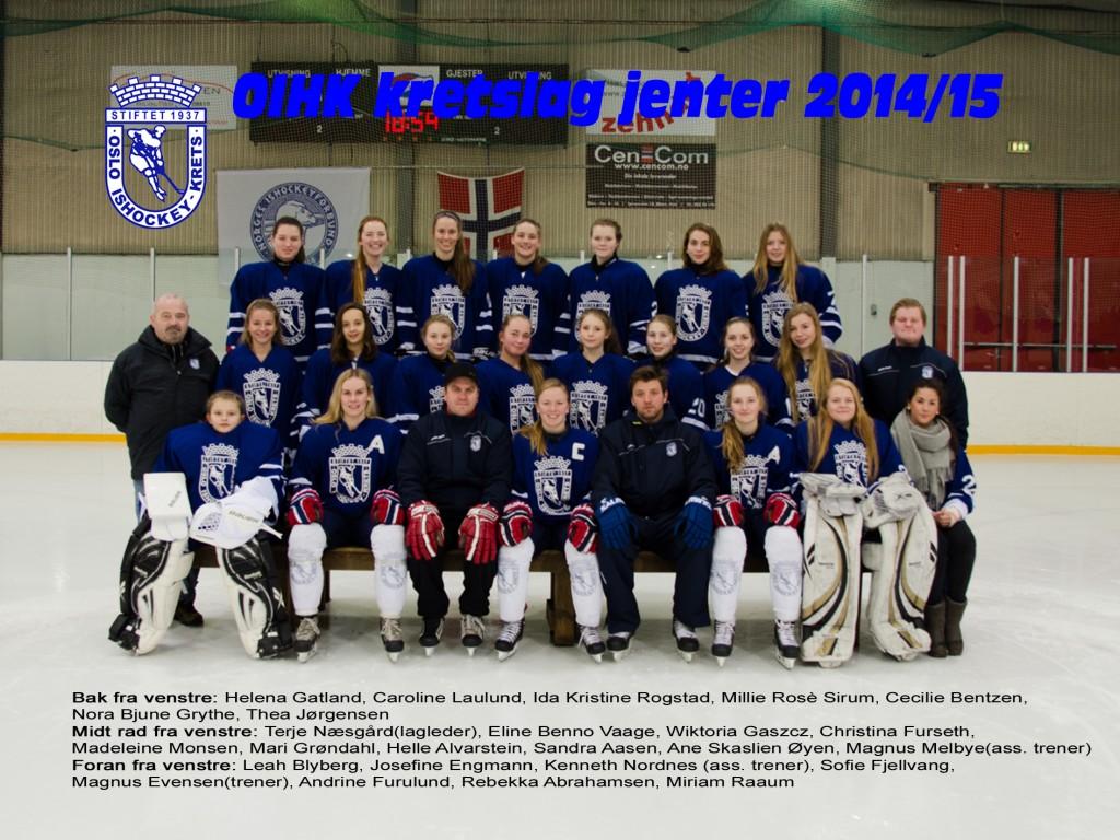 OIHK jenter 2014-15