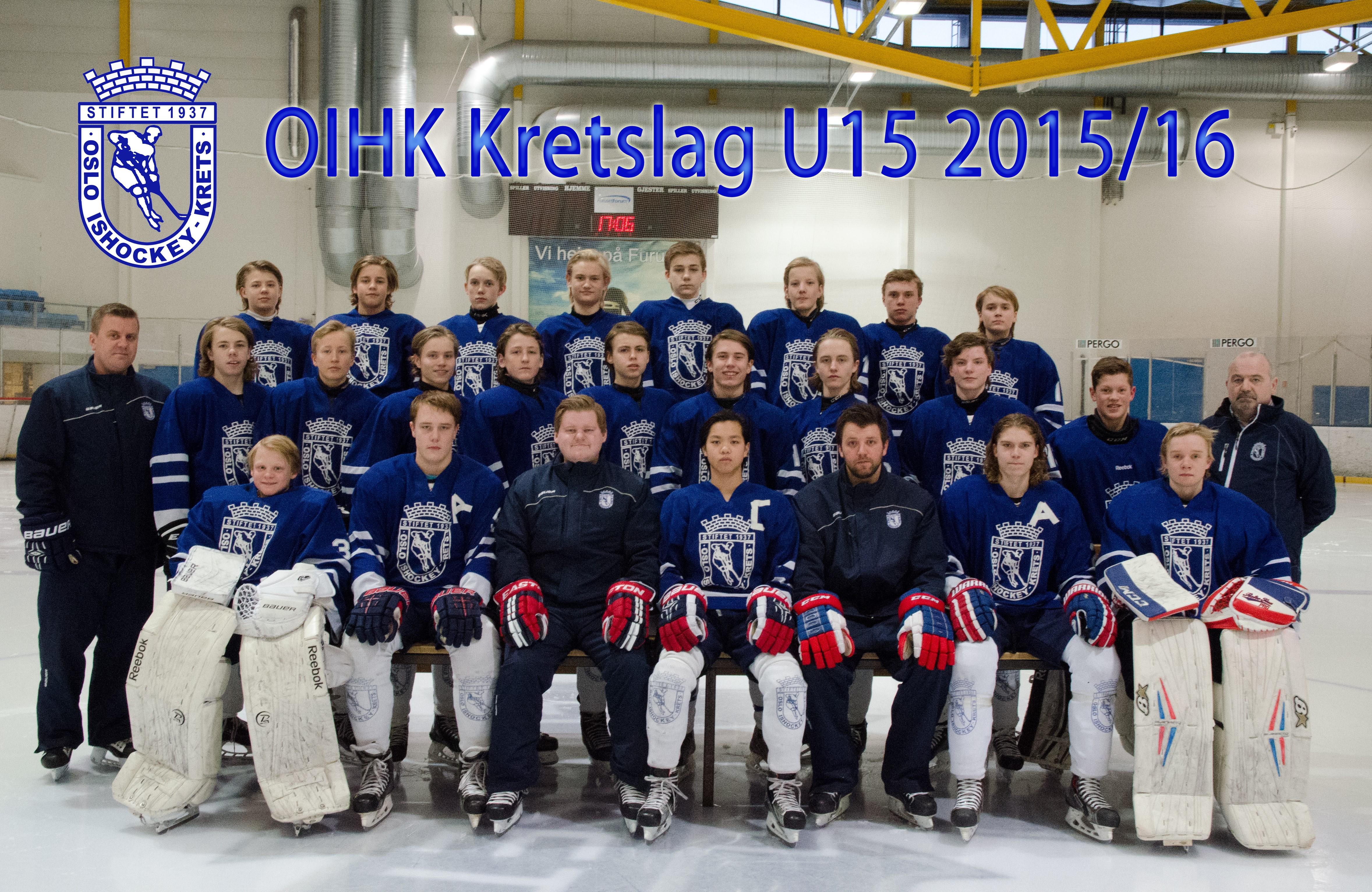 OIHK krestlag U15 2015-16
