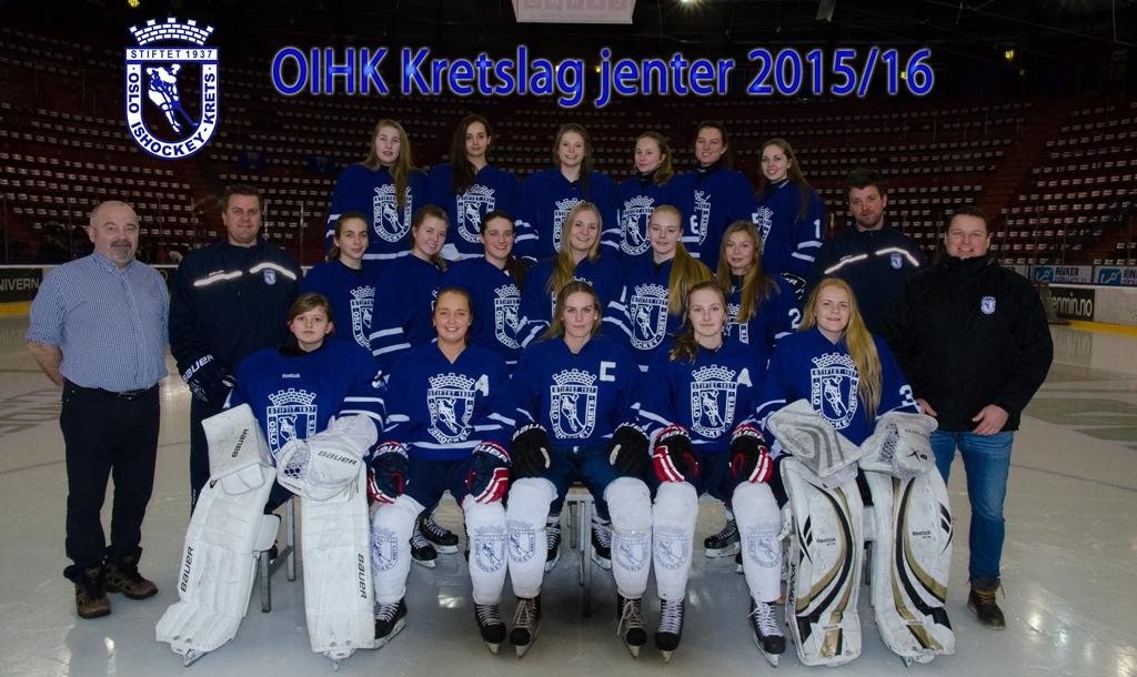 OIHK kretslag jenter 2015-16